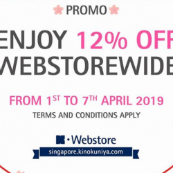 Kinokuniya: Enjoy 12% OFF on All Books Online This Week!