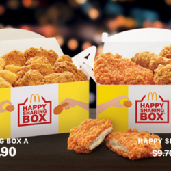 McDonalds: McDelivery Day Special - Get Up to $4 OFF Happy Sharing Boxes!