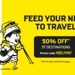 Scoot: Extended GTG Sale with 50% OFF 57 Destinations!