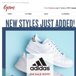 [6pm] We just dropped 100s of new styles in adidas, Tommy Hilfiger and more!