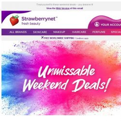 [StrawberryNet] Don't Miss US$5 Redemptions You'll Love!