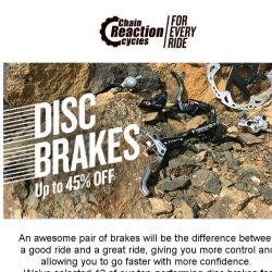 [Chain Reaction Cycles] STOP ✋ Top Disc Brakes
