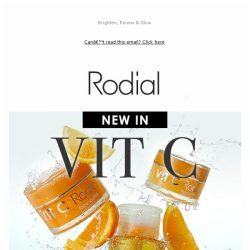 [RODIAL] New In Vit C: Your Glow-To 🍊