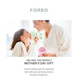 [Foreo] Mother's Day Bundle Set – Savings of 28%!