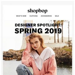 [Shopbop] The hottest designers on our site right now