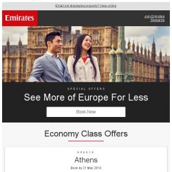 [Emirates] See more of Europe for less from SGD 869 return*