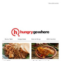 [HungryGoWhere] Find your best Halal dining treats this Ramadan - 1 child dines free with 2 paying adults,  1-for-1 Ramadan Iftar buffet, and more