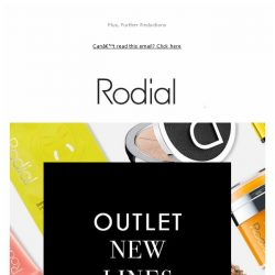 [RODIAL] OUTLET New Lines Added