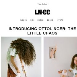 [LN-CC] Introducing Ottolinger: The Little Chaos + In Conversation: The Photography Club and YOUTH CLUB