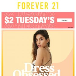 [FOREVER 21] 💸 TWO DOLLA TUESDAY 💸