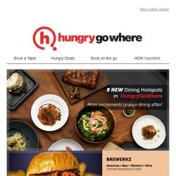 [HungryGoWhere] Discover the latest additions in HungryGoWhere - Halal ramen and zi char, Tex-Mex, and more!