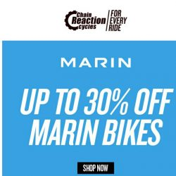 [Chain Reaction Cycles] Marin Bikes: Selling FAST 💨