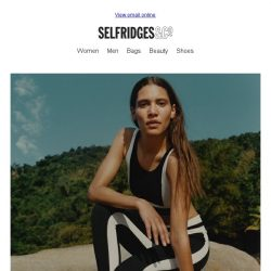 [Selfridges & Co] The brilliant new activewear that's getting us moving