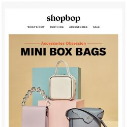 [Shopbop] The bag of the moment