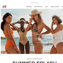 [H&M] Our new beachwear collection is here!