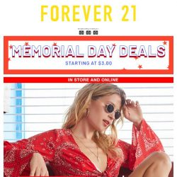 [FOREVER 21] HELP. WE'RE BURNING UP 🚒