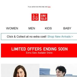 [UNIQLO Singapore] Time is running out!