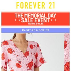 [FOREVER 21] STARTING WITH NEW