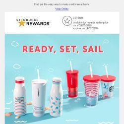 [Starbucks] All aboard, for an adventure out at sea