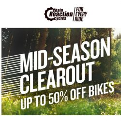 [Chain Reaction Cycles] Shop Now, Ride Later 