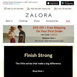 [Zalora] The extras your look is missing 