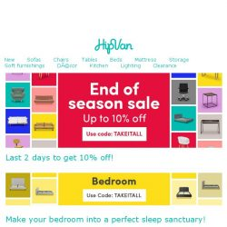 [HipVan] Give your bedroom a complete makeover!