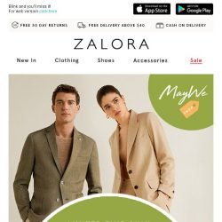 [Zalora] Ends 6PM: Extra 45% Off your wishlist!