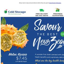 [Cold Storage]  Ever Heard of Kiwano?