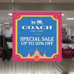 Takashimaya: Coach Special Sale with Up to 50% OFF + Additional 25% OFF for Takashimaya Cardholders & Coach VIPs!