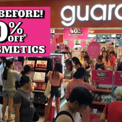 Guardian: Enjoy 40% OFF All Cosmetics In Stores & Online!