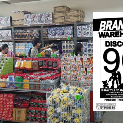 Sheng Tai Toys: Branded Toys Warehouse Sale 2019 with Up to 90% OFF Gundam, Power Rangers, Tomica, Shopkins & More!
