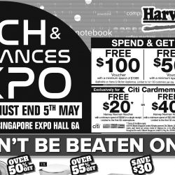 Harvey Norman: Tech & Appliances Expo 2019 with Up to 75% OFF IT & Home Appliances!