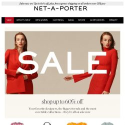 [NET-A-PORTER] 1,000+ dresses at up to 60% off – plus Dries Van Noten just added