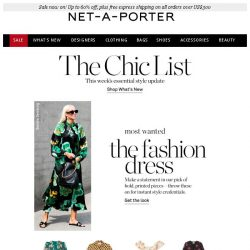 [NET-A-PORTER] When in doubt, wear this dress – plus up to 60% off Sale