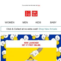 [UNIQLO Singapore] Here comes the KAWS:SUMMER UT Collection!