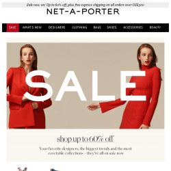 [NET-A-PORTER] These are the Sale pieces selling fast