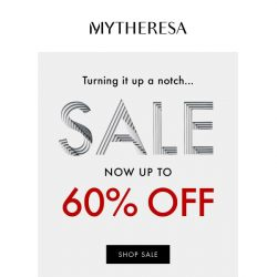 [mytheresa] Sale up to 60% off + further reductions