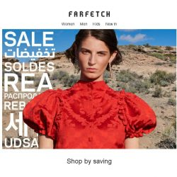 [Farfetch] Shop the Sale by discount