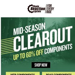 [Chain Reaction Cycles] Components •  Up to 60% off →