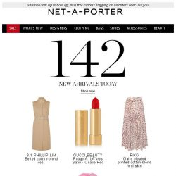 [NET-A-PORTER] Want to know what's new for you?