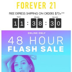 [FOREVER 21] ⚡ FLASH SALE ⚡