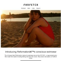 [Farfetch] Choose positively on World Oceans Day with Reformation