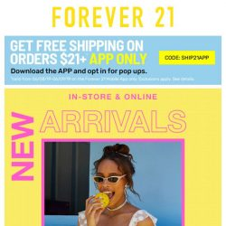 [FOREVER 21] Wait...is that NEW?