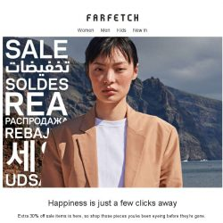 [Farfetch] Extra 30% off sale items. You know what to do