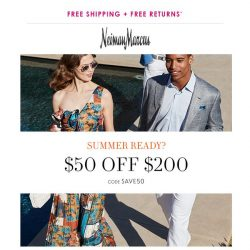 [Neiman Marcus] Surprise! Extra day for $50 off