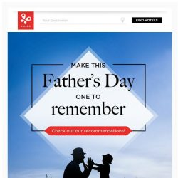 [Kaligo] , make this Father's Day one to remember! 