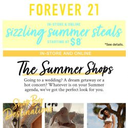 [FOREVER 21] A shop for any occasion!