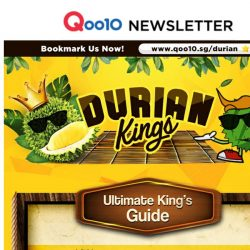 [Qoo10] Join Our Durian Kings - Exclusive Durian Deals & the Best Guide to Satisfaction! Grab Mao Shang Wang @ only $8.90!