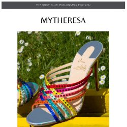 [mytheresa] Shoe Club exclusive: summer cocktail party