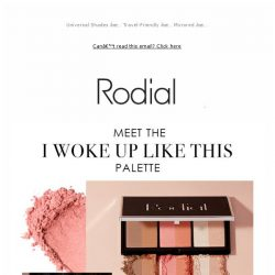 [RODIAL] Our New Complexion Palette Has Arrived